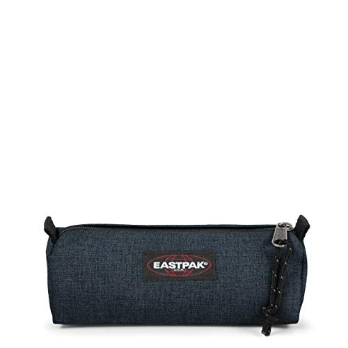 Eastpak Benchmark Single Astuccio, 21 cm, Blu (Triple Denim)